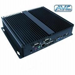 R   ed Industrial PC Box Atom N2600/N2800/D2550 CPU 2GB DDR3 32GB SSD WiFi