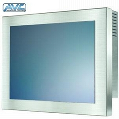 17inch Stainless Steel Touch Monitor Antirust Anti-Corrosion VGA/HDMI 7/8/10/12/