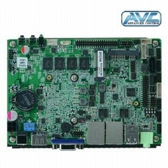 (NEW)EPIC 3.5inch Baytrail N2930 motherboard back CPU Qual core 1.8GHz onboard 4