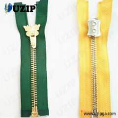 fancy zipper slider and metal zippers for jackets
