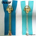 fancy zipper slider and metal zippers for jackets 2