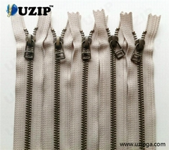 Heavy Duty Close End Metal Zipper