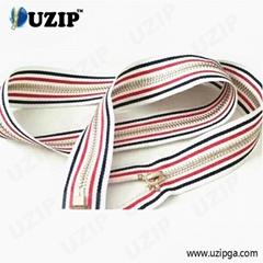 decorative heavy duty zips