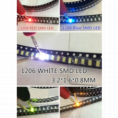 High quality colors available 1206 smd