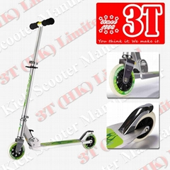 120mm PU Wheel Ai Alloys Foldable Kick Scooter