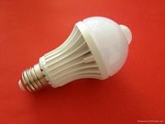 HIgh Quality 5W LED Sensor Bulb Light E27 LED Bulb Light