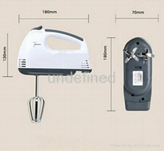 7-speed Hand Mixer HM-331 Electrical Hand Mixer