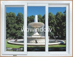 60mm series PVC sliding window