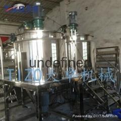 500L加熱均質乳化攪拌機