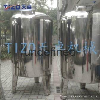 广州专业生产304不锈钢储罐 5