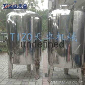 广州专业生产304不锈钢储罐 3