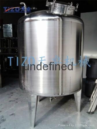 广州专业生产304不锈钢储罐 1