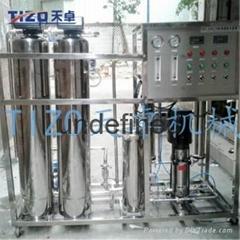 防爆裂耐寒不锈钢反渗水纯水处理装置