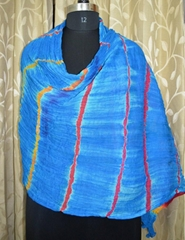 Cotton Tie-Dye Shibori Women's Dupatta Head Scarf Neck Ethnic Indian Dupatta