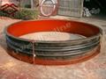 FUB duct rubber compensator fabric