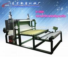 hot melt film laminating machine