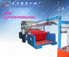 paper to fabric laminating machine