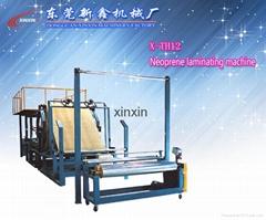 SBR neoprene laminating machine