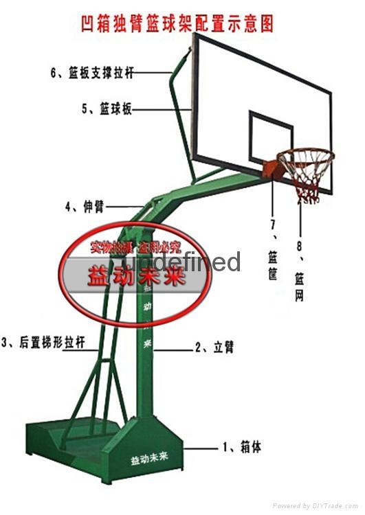 益動未來凹箱籃球架 2