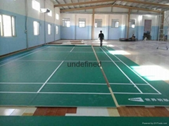 天津羽毛球運動地板