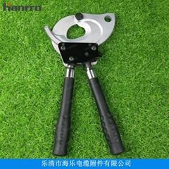 Hanrro牌RCC-65C可伸縮式棘輪電纜剪