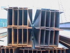 High quality hot rolled H beam H shaped steel