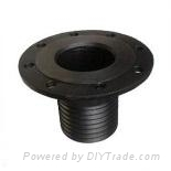 GX Iron Casting(Flange with pipe threa) 1