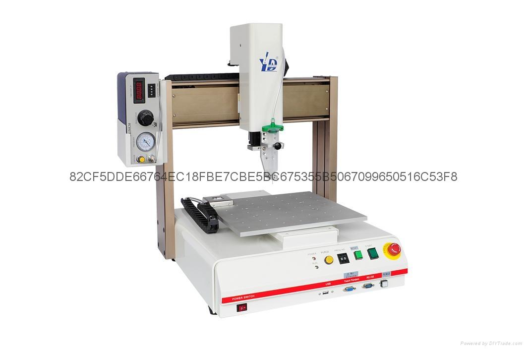 Y&D7200N桌上型自动点涂胶机 4