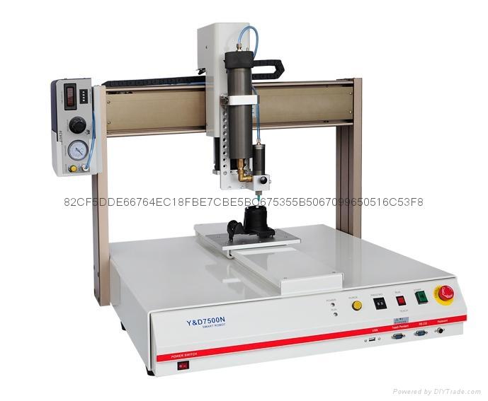 Y&D7500N桌上型自动点涂胶机 3