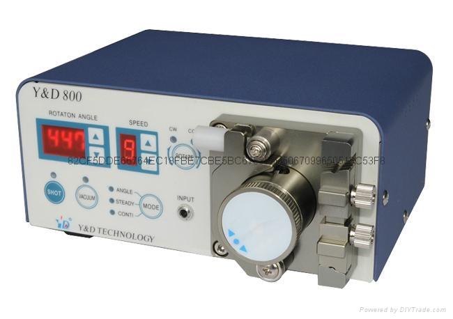 Y&D800蠕动式免气压点胶机 5