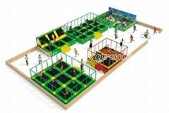 Indoor Trampoline Park  5088A
