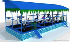 Fitness Trampoline Equipment 3064A