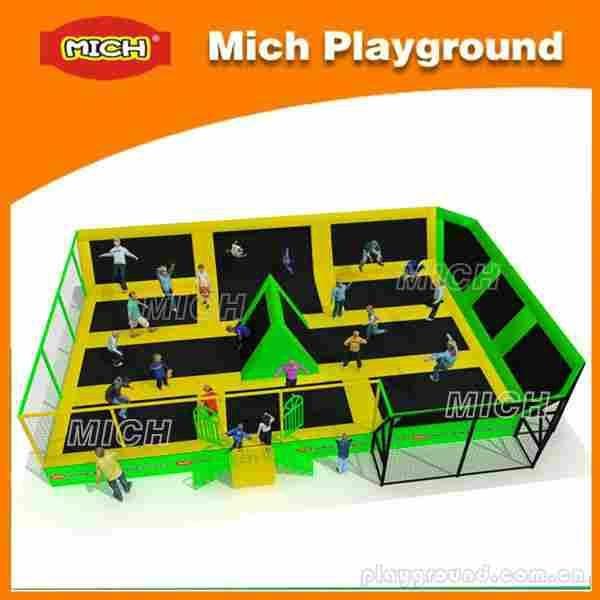 Hot New Design Kids Indoor Fitness Trampoline Bed For 2014 1