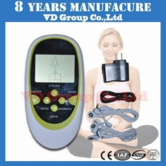 digital of therapy of machine of massager instruction on with