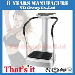 professional super body shaper whole body vibration machine crazy fit massager