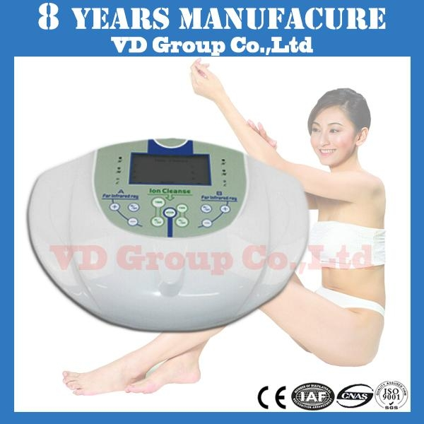 electronic best whole body cleanse spa life ion foot detox machine with belt 1