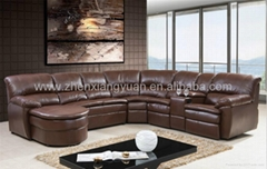 Italian luxury furniture living room sofa,recliner sofa