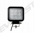 LED Work light|9x3 watts Square LED Work Light