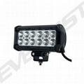12*3W CREE LED light bar