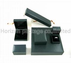 Paper plastic jewelry box
