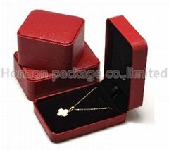 Luxury plastic jewelry box