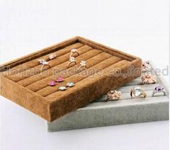 Velvet jewelry tray