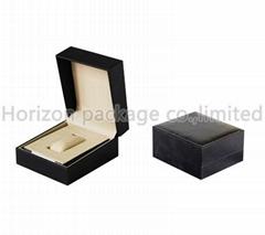 Wholesale fashion promotion mdf leather watch box