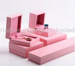 Pink jewelry box ,jewelry case