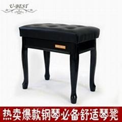 UBT軟面實木鋼琴凳
