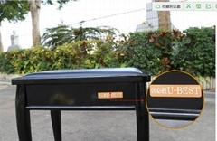 單人軟面鋼琴凳