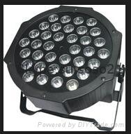 54pcs*1w RGB  LED Flat Par Light