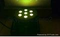 7pcs *10w 4 in 1 RGBW color LED Flat Par