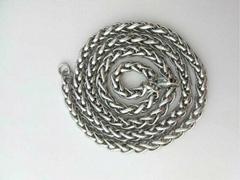 316L不锈钢花篮项链