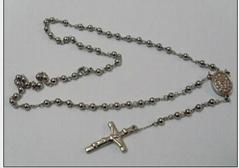316L不锈钢耶稣吊坠项链
